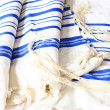 Prayer Shawl - Tallit, jewish religious symbol — Stock Photo #37281309