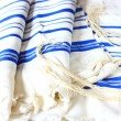 Prayer Shawl - Tallit, jewish religious symbol — Stock Photo #37281337