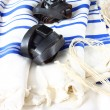 Prayer Shawl - Tallit, jewish religious symbol — Stock Photo #37281353