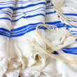 Prayer Shawl - Tallit, jewish religious symbol — Stock Photo #37281403