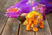 手作りのインド象 — ストック写真