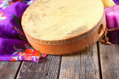 Traditional ethnic hand drum — Stock Photo