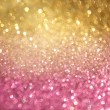 Golden and pink abstract bokeh lights. defocused background — Stock Photo #37690621