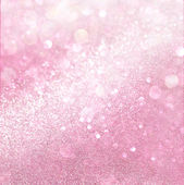 White and pink abstract bokeh lights. defocused background — Stock Photo