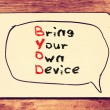 Постер, плакат: Bring your own device
