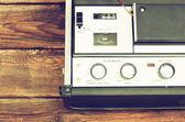 Reel to reel recorder — Stock Photo