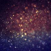 Fondo de navidad festiva púrpura. elegante fondo abstracto con bokeh desenfocada luces y estrellas — Foto de Stock