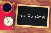 It's go time — Stock Photo