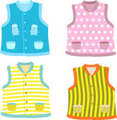 Children's waistcoat — Stock Vector