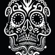 Day of dead skull — Stock Vector #12685482