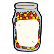 Royalty-Free Stock Vector Image: Canned food cartoon