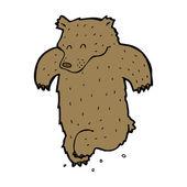 Dancing bear — Stock Vector