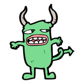 Monstro scarry — Vetor de Stock