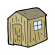 Stock Vector: Shed cartoon