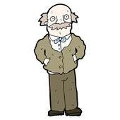 Grandfather cartoon — Stock Vector