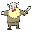 Cartoon viking — Stock Vector #13574389