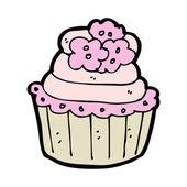 Cartoon cup cake — Stock Vector