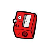 Temperamatite cartoon — Vettoriale Stock
