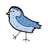 Funny bluebird cartoon — Stock Vector