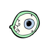 Cartoon eye — Stock Vector