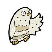 Owl cartoon — Stock Vector