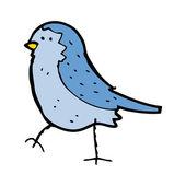 Bluebird cartoon — Stock Vector