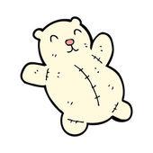 Toy bear cartoon — Stock Vector
