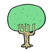 Tree cartoon — Stock Vector
