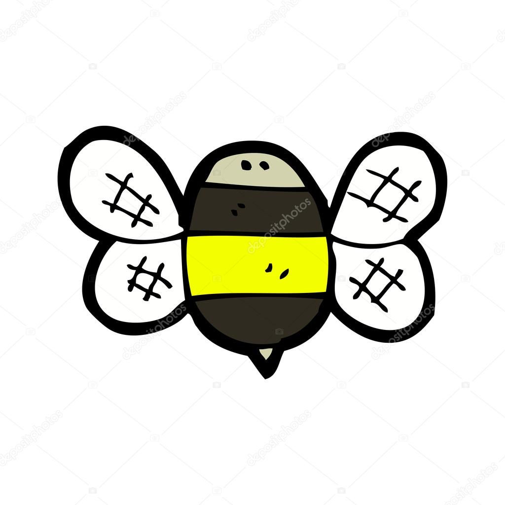 Cute baby bumble bee — Stock Vector #13572366