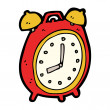 Alarm clock cartoon — Stock Vector #14906813