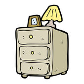 Cartoon chest of drawers — Stockvektor