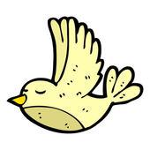 Flying bird cartoon — Vettoriale Stock