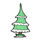 Green Xmas Tree — Stock Vector