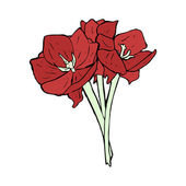 Ilustración de las flores — Vector de stock