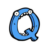 卡通字母 q — 图库矢量图片