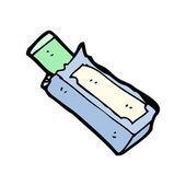 Pacchetto di gomma da masticare cartoon — Vettoriale Stock