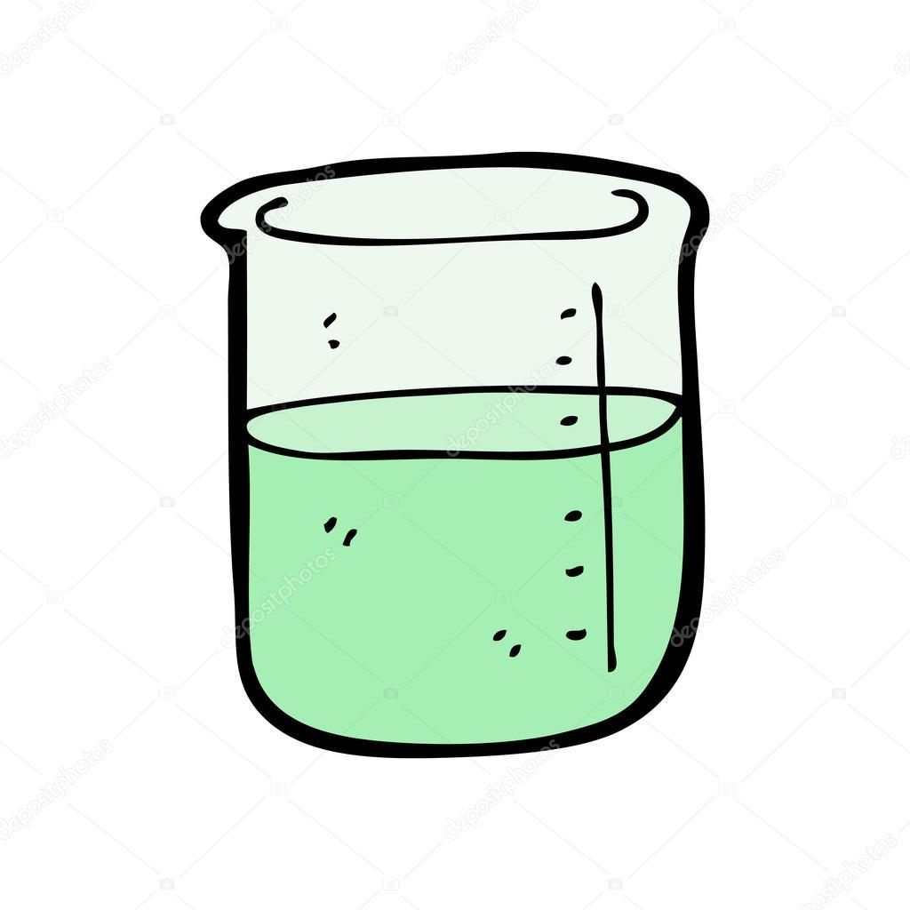 vaso de precipitados de dibujos animados ciencia vector chemistry clip art chalk chemistry clip art for teachers