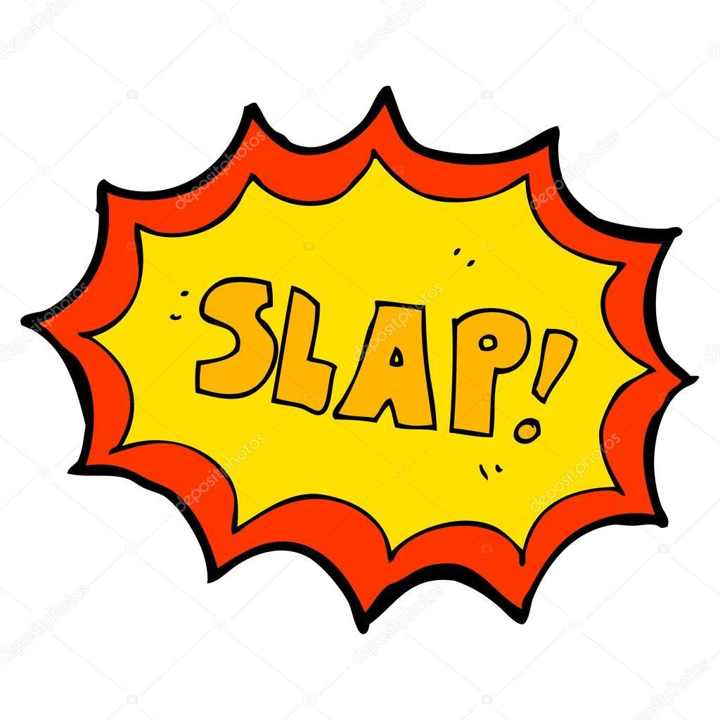 Slap her thumb