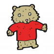 Vettoriale Stock : Bear cartoon