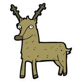 Reindeer cartoon — Stock Vector
