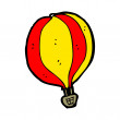 Hot air balloon cartoon — Stock Vector