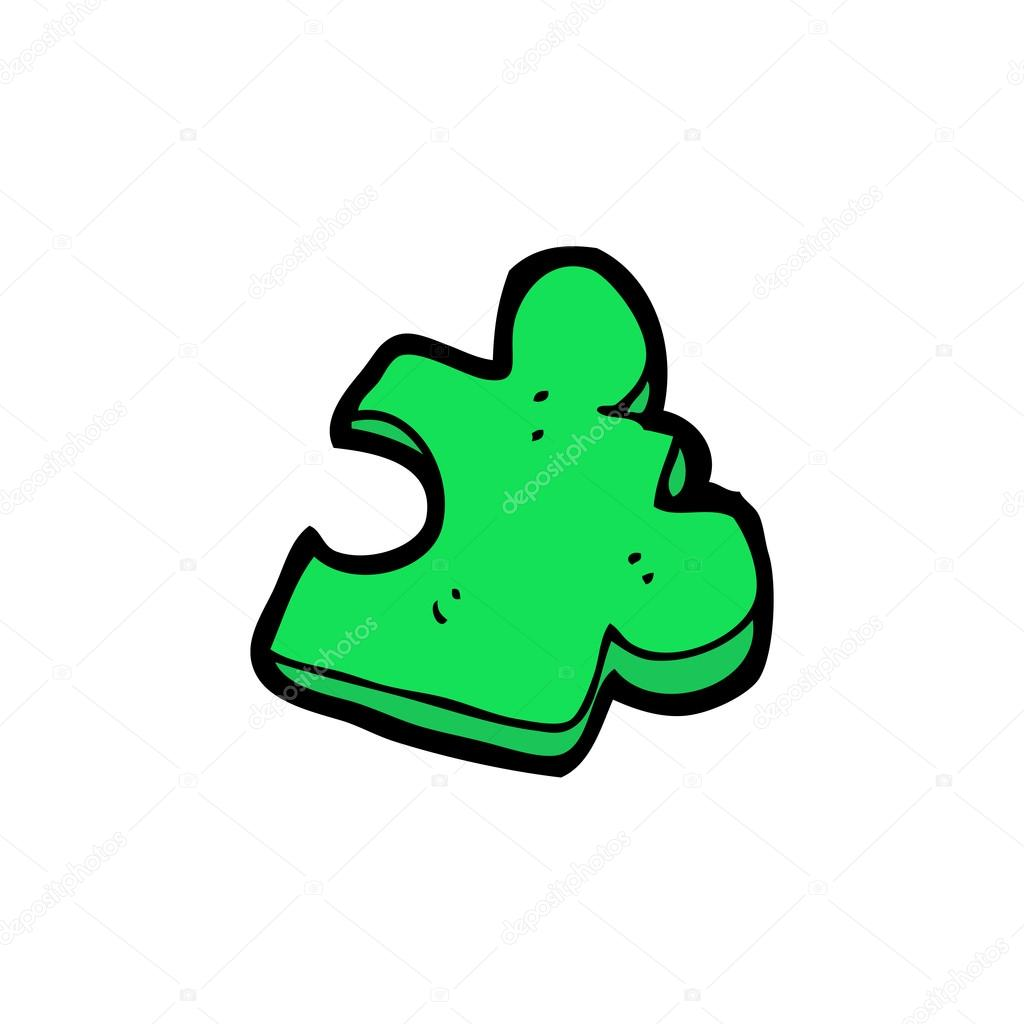 Pi ce de puzzle dessin anim image vectorielle lineartestpilot 16290227 - Puzzle dessin ...