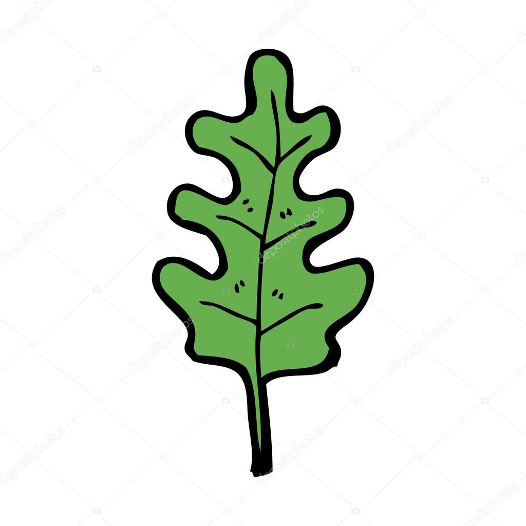 Oak Leaf Cartoon Stock Vector 63153253  Shutterstock