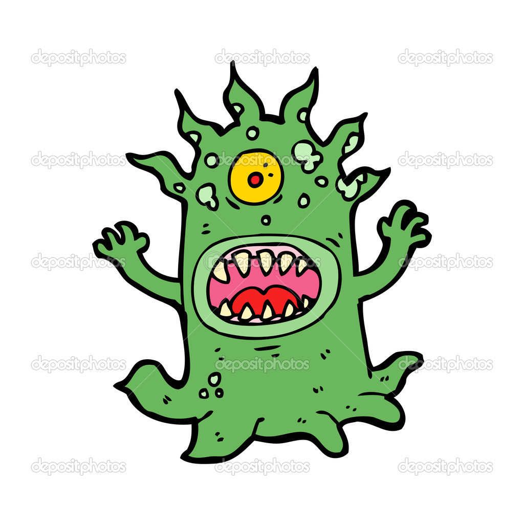Cartoon monster — Stock Vector #16296397