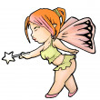 Stock Photo: Colored fairy
