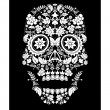 Day of the dead pattern — Stock Vector #16984017