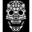 Day of the dead pattern — Stock Vector #16984049