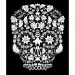 Day of the dead pattern — Stock Vector #16984059