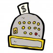 Royalty-Free Stock ベクターイメージ: Cartoon cash register