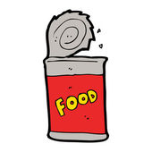 Food Can — Stock Vector